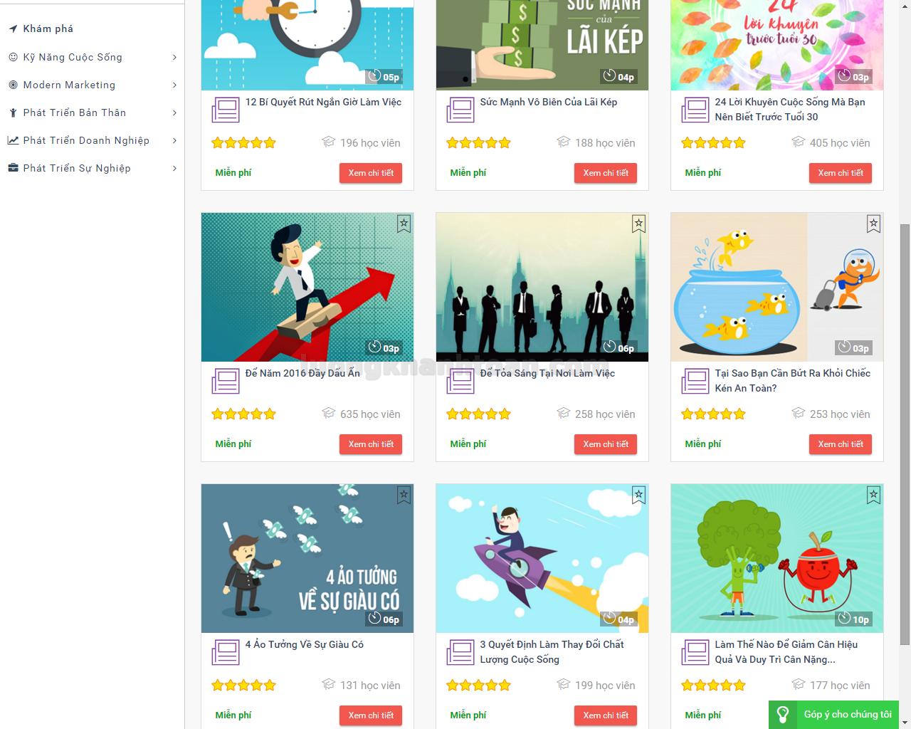 UBrand cập nhật thêm mục nội dung miễn phí
