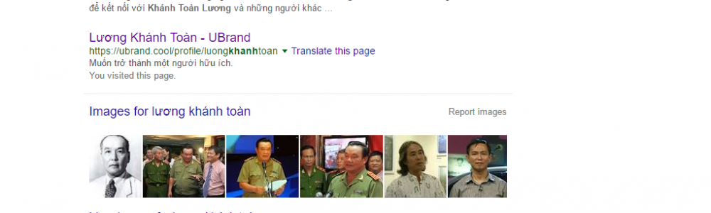 Tên bạn ở đâu trên kết quả tìm kiếm Google?