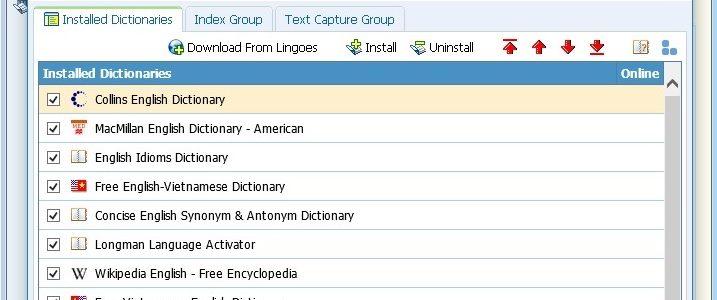 chia sẻ từ điển lingoes portable